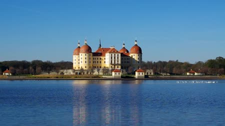 germania : Moritzburg  Filmati Stock
