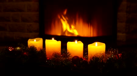 lenha : candles and chimney fire