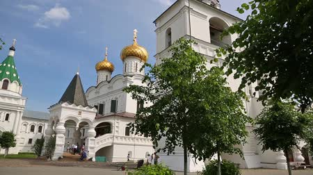 KOSTROMA, RUSSIA - CIRCA JUNE, 2016: Holy Trinity Ipatiev Monastery - male monastery in Kostroma. Monastery is mentioned for the first time in the annals in 1432, but it is based may have been earlier
