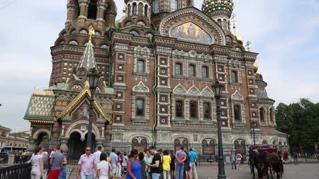 ST. PETERBURG, RUSSIA - CIRCA JUNE, 2016: Church of the Savior on the Blood of Christ, or the Church of the Saviour on Spilled Blood. It was erected by decree of Emperor Alexander III in 1883-1907