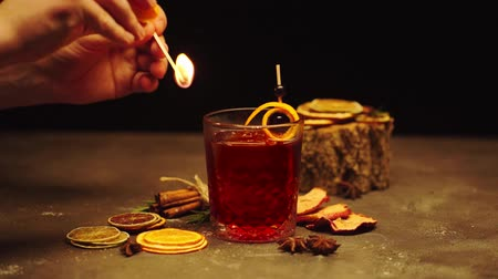 anason : Cocktail drink dressing decoration