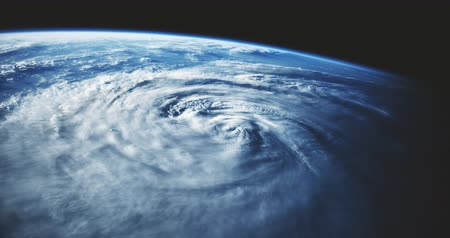 planeta : Hurricane as seen from space. Vídeos