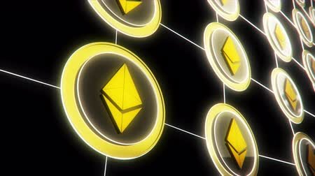 cryptocurrency : Ethereum the Virtual Crypto Currency in a Digital Wallet