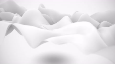 zmysłowy : Abstract flowing silk. Seamless loop. 4K UHD animation.