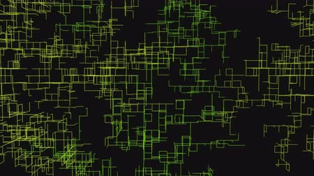 spawn : Abstract network growth. Technology themed background. 4k UHD animation. Stock Footage