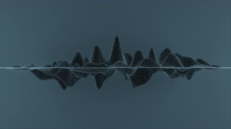 размеры : Abstract wireframe lines looped in a wave pattern.