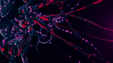 nerves : Flight though a highly detailed neural network. 4K UHD animation.
