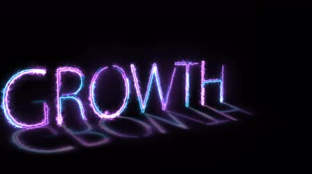 расширение : Depicting the concept of business growth. 4K UHD animation