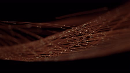 sinal : Fiber Optic Data Communication. 4K UHD animation. Stock Footage