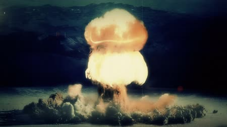 cogumelo : A Nuclear Detonation. Realistic animation