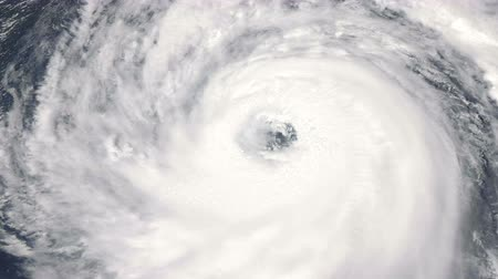 fatality : A breathtaking satellite view of a menacing hurricane as it makes landfall.