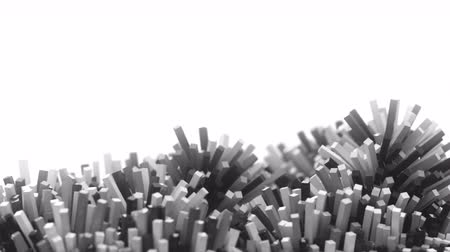 мягкость : 4K Abstract Cubic Mesh. Seamless looping