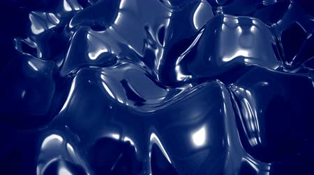 fundir : 4K Abstract Liquid Metal. Seamless Loop