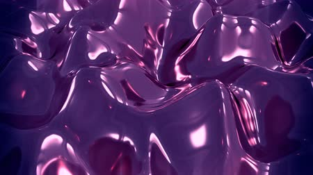 refraksiyon : 4K Abstract Liquid Metal. Seamless Loop