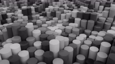 csővezeték : 4K Abstract Cylinders. Seamless Looping