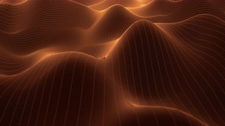 büyük ağ : 4K Undulating Abstract Grid. Seamless Loop