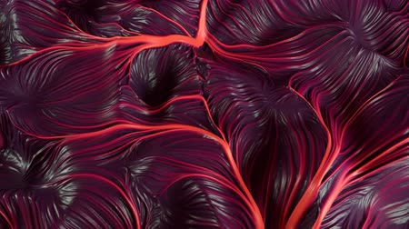 balçık : 4K Abstract Muscle Tissue. Seamless Loop