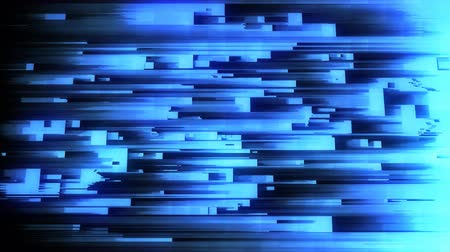 привет : 4K Abstract Glitch LED Background. Seamless Loop. Стоковые видеозаписи