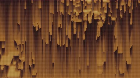 compressione : 4K Abstract Glitch Technology Background. Loop senza soluzione di continuità.