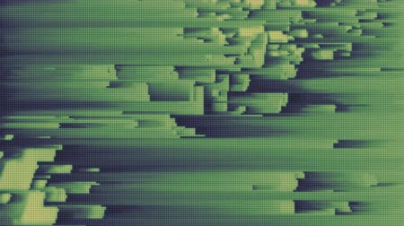błąd : 4K Abstract Glitch Technology Background. Seamless Loop. Wideo
