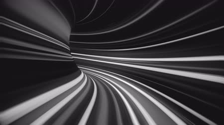 felvilágosodás : 4K Abstract Warp Tunnel. Seamless loop Stock mozgókép