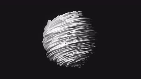 undulating : 4K Abstract Geometry. Seamless loop