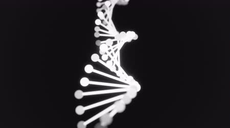 cromossoma : 4K Abstract DNA Helix. Seamless loop