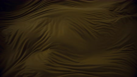 draperie : 4K Elegant Silk Fluttering in the Wind. 3D CGI Animation.