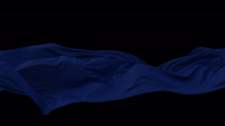 veludo : 4K Elegant Silk Fluttering in the Wind. 3D CGI Animation.