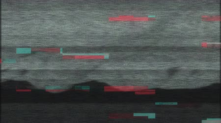 царапина : 4K Stylized Pixel Noise Glitch Error Damage. Seamless Loop.