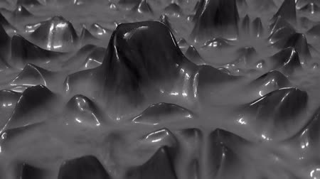 光沢のある : 4K Abstract Slime. Seamless Loop