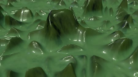 salpicadura : 4K Abstract Slime. Seamless Loop