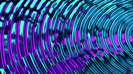innowacje : 4K Glimmering Abstract Science Fiction Background. Seamless Loop.