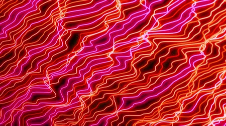 подиум : 4K Abstract ultraviolet light glowing neon lines. Seamless looping.