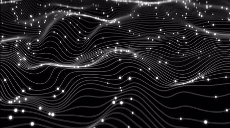 güvenlik duvarı : 4K Abstract Depiction of Data Flowing Over a Network. Highly unique. 3D CGI animation.