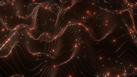 data mining : 4K Abstract Depiction of Data Flowing Over a Network. Highly unique. 3D CGI animation.