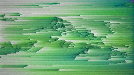 estilizado : 4K Highly Stylized Data Mosh Distortion, Pixel Sorting and Static Noise. Seamless Looping. Stock Footage