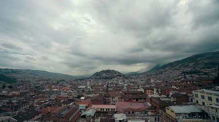 lookout point : View Of Quito Ecuador