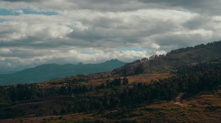 quito : View of Mountains in Ecuador Stock Footage