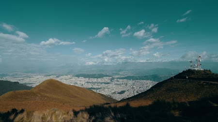 quito : View of the city.