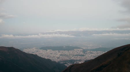 ecuador : View of the city.