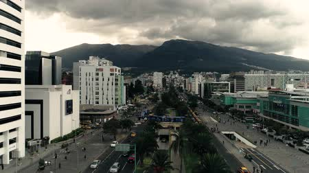 none : Ecuador. Quito. Drone Stock Footage