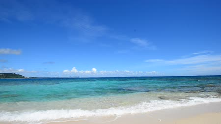 cobalt : The cobalt blue sea and blue sky of Okinawa.Japan