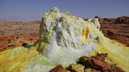 molas : in ethiopia africa the volcanic depression of dallol