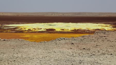 phreatic : in ethiopia africa the volcanic depression of dallol