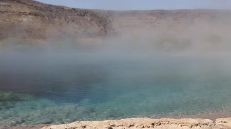 hot springs : in danakil ethiopia africa the volcanic depression of dallol and pole ale