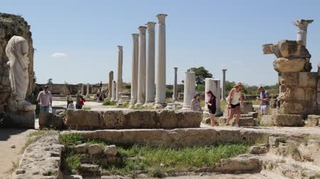 известняк : in northern cyprus the antique city and ruins of salamina history and tradition