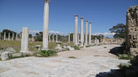 oszlopsor : in northern cyprus the antique city and ruins of salamina history and tradition