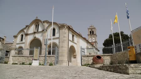 kypr : in cyprus the old church and the historical heritage of history