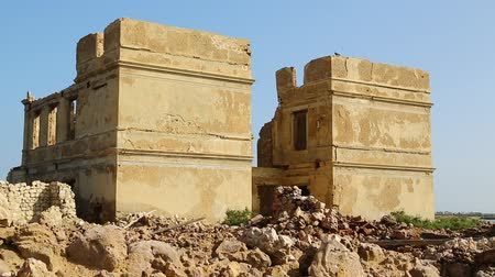 gravura : in africa sudan suakin the antique ottoman heritage near the city of port sudan